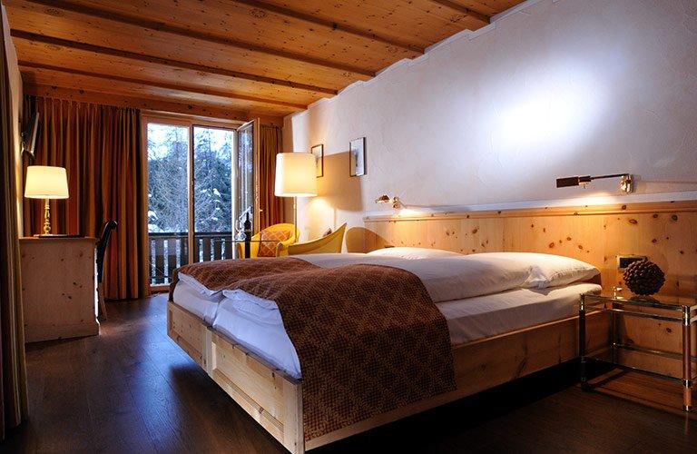 Hotel Albris Zimmer