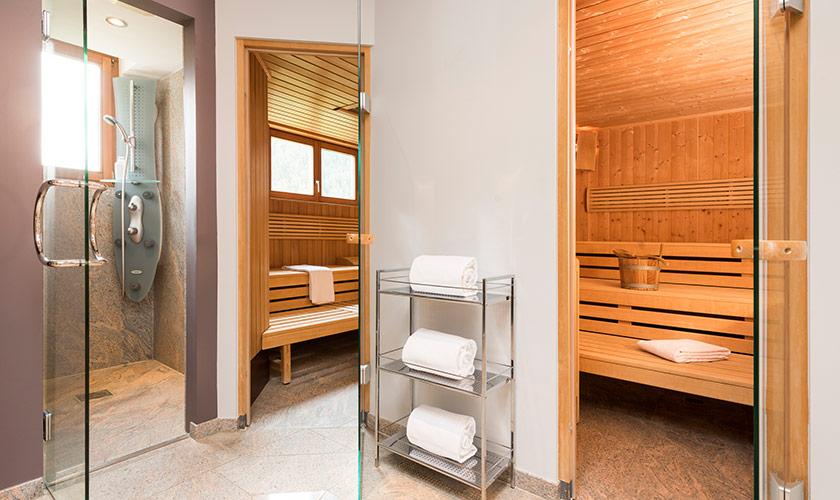 Hotel Albris Wellness Die Sauna