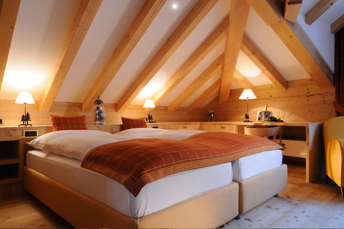 Hotel Albris Zimmer Segantini