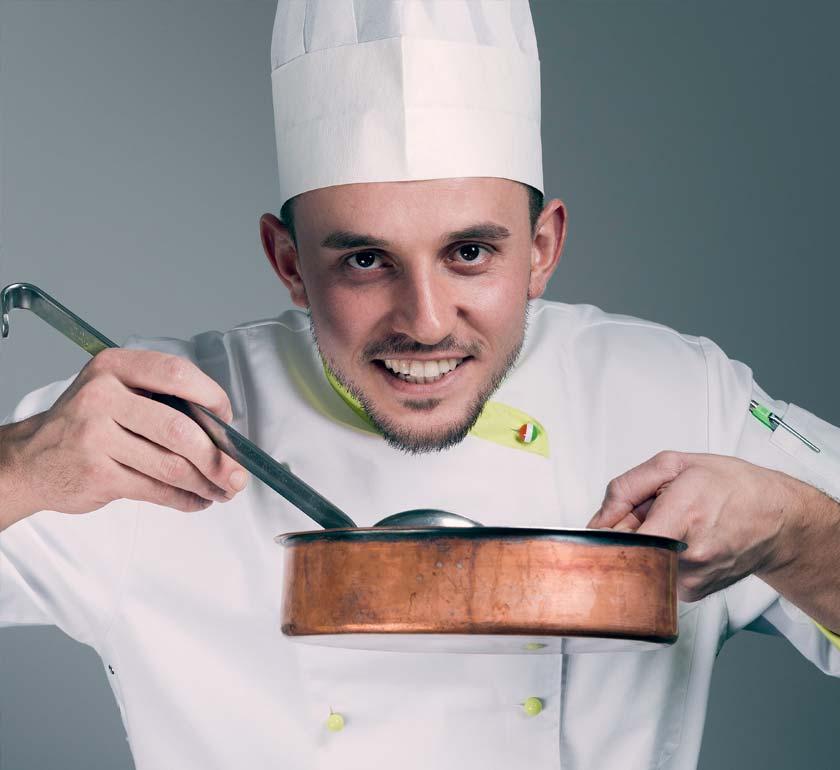 Hotel Albris, Interview mit Chefkoch Andrea Berti